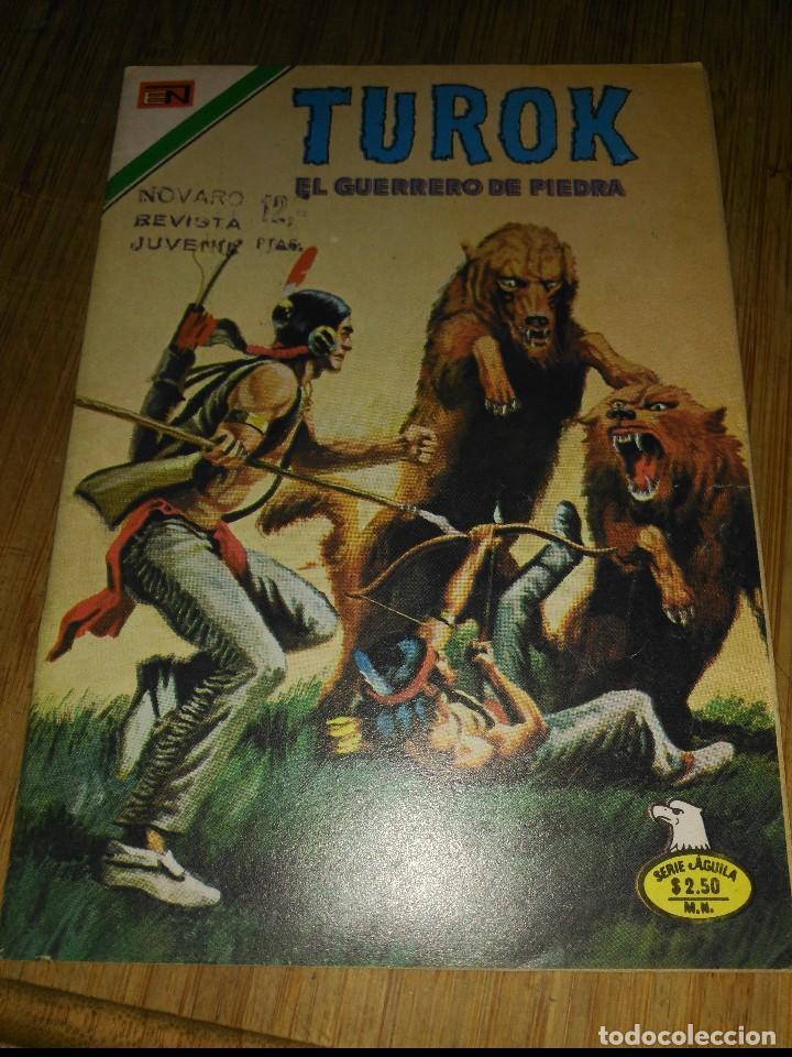 TUROK Nº 110 SERIE ÁGUILA MUY DIFÍCIL NOVARO (Tebeos y Comics - Novaro - Otros)