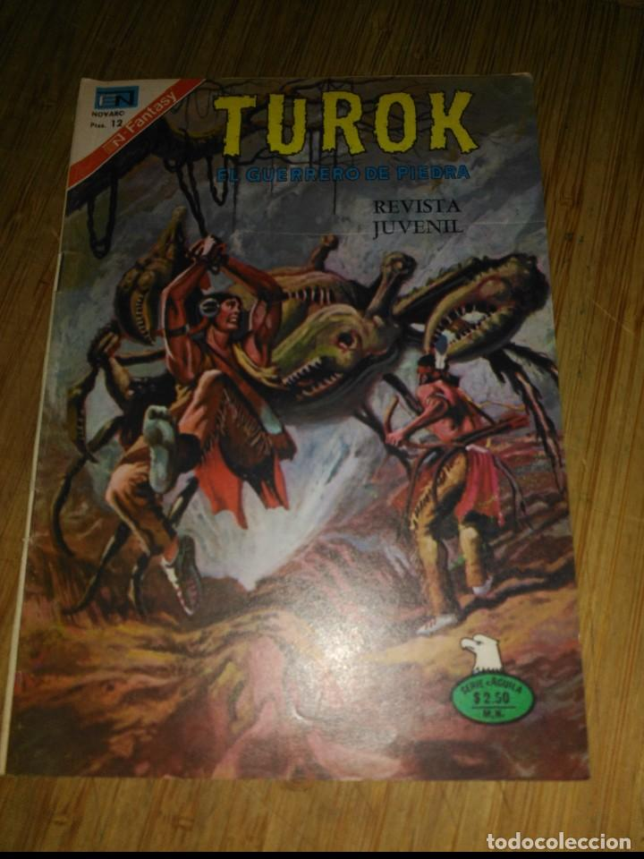 TUROK Nº 112 SERIE ÁGUILA MUY DIFÍCIL NOVARO (Tebeos y Comics - Novaro - Otros)