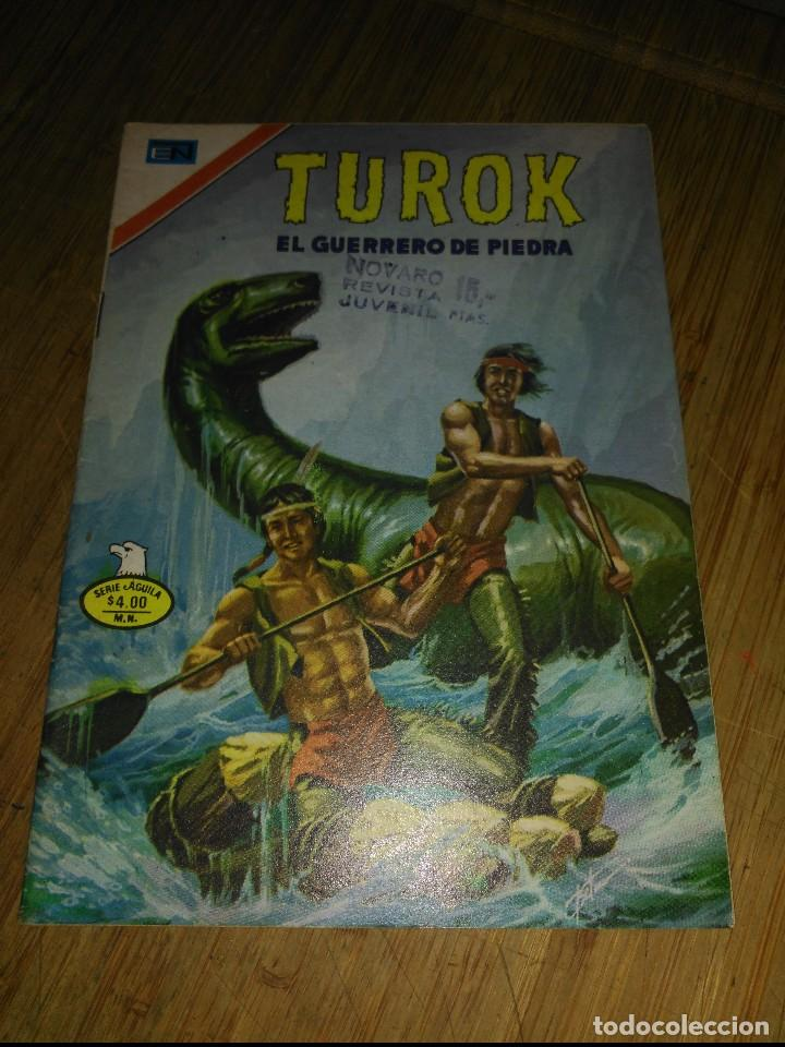 TUROK Nº 145 SERIE ÁGUILA NOVARO (Tebeos y Comics - Novaro - Otros)