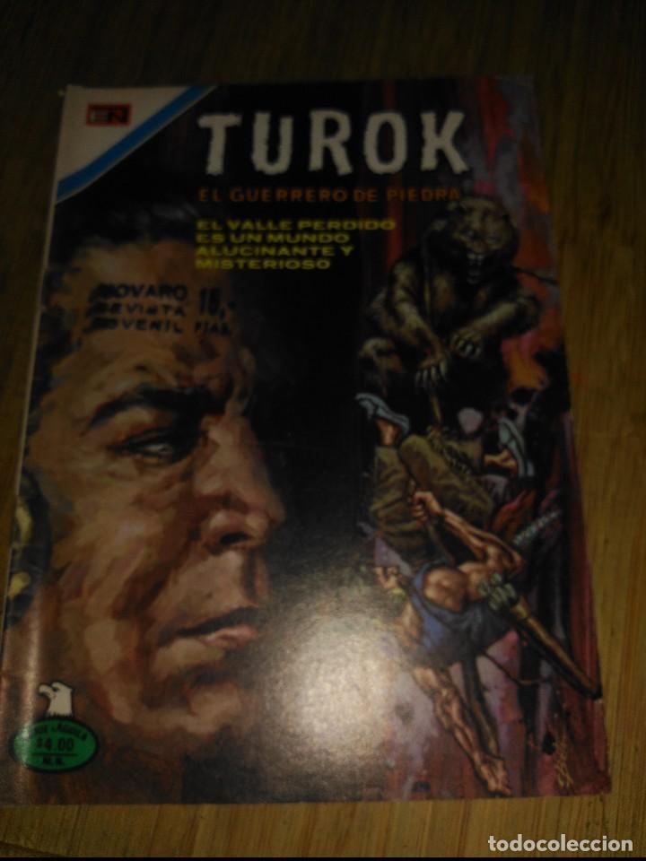 TUROK Nº 148 SERIE ÁGUILA MUY DIFÍCIL NOVARO (Tebeos y Comics - Novaro - Otros)