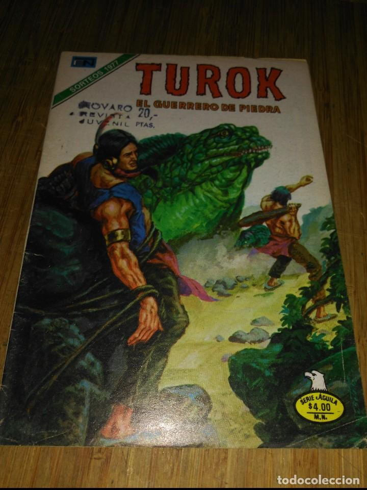 TUROK Nº 160 SERIE ÁGUILA NOVARO (Tebeos y Comics - Novaro - Otros)