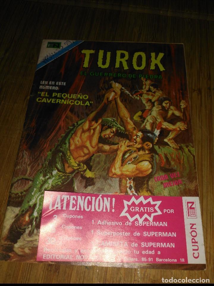 TUROK Nº 162 SERIE ÁGUILA NOVARO (Tebeos y Comics - Novaro - Otros)