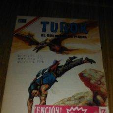Tebeos: TUROK Nº 175 SERIE ÁGUILA MUY DIFÍCIL NOVARO. Lote 146004618