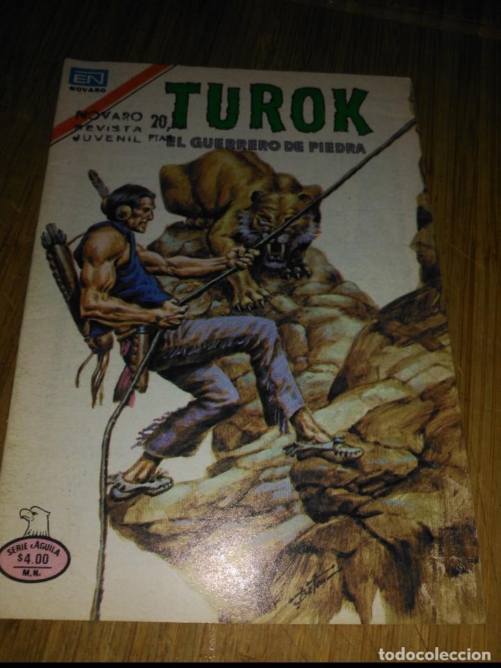 TUROK Nº 186 SERIE ÁGUILA MUY DIFÍCIL NOVARO (Tebeos y Comics - Novaro - Otros)