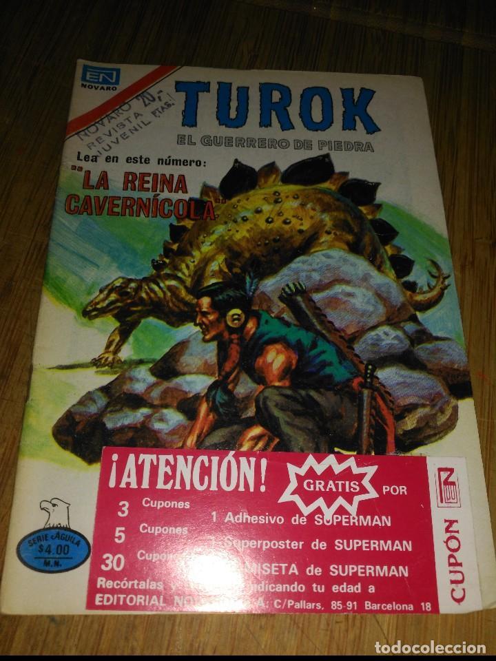 TUROK Nº 188 SERIE ÁGUILA MUY DIFÍCIL NOVARO (Tebeos y Comics - Novaro - Otros)
