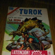Tebeos: TUROK Nº 188 SERIE ÁGUILA MUY DIFÍCIL NOVARO. Lote 146005250