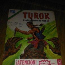 Tebeos: TUROK Nº 189 SERIE ÁGUILA MUY DIFÍCIL NOVARO. Lote 146005418