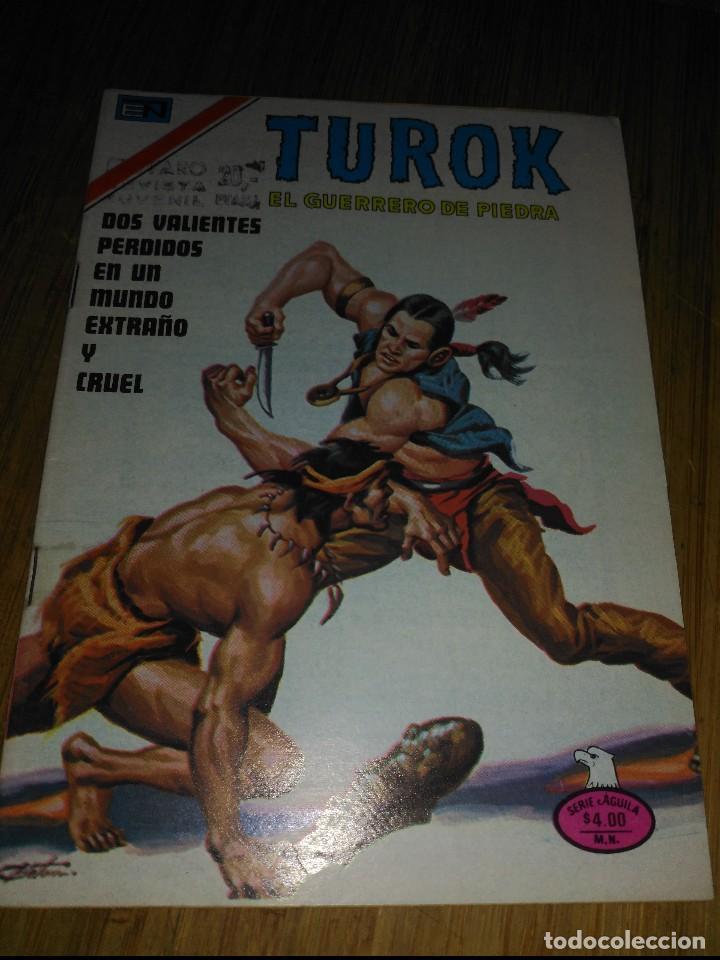 TUROK Nº 199 SERIE ÁGUILA MUY DIFÍCIL.NOVARO (Tebeos y Comics - Novaro - Otros)