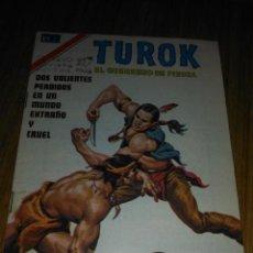 Tebeos: TUROK Nº 199 SERIE ÁGUILA MUY DIFÍCIL.NOVARO. Lote 146005902