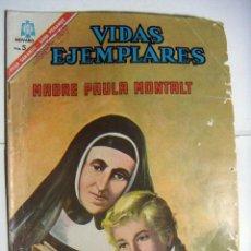 Tebeos: VIDAS EJEMPLARES 235 MADRE PAULA MONTALT EDITORIAL NOVARO. Lote 146017198