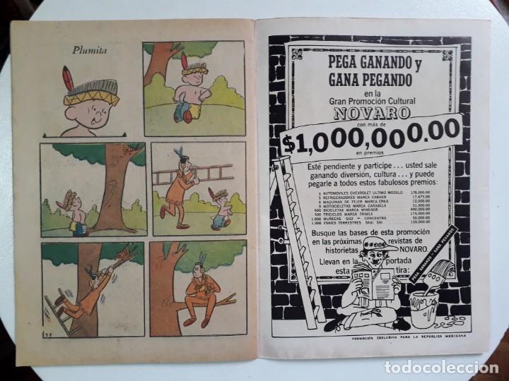 Tebeos: El llanero solitario n° 161 - original editorial Novaro - Foto 3 - 146035410