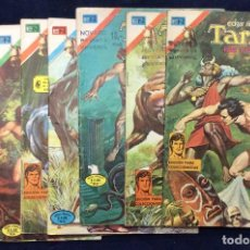 Tebeos: TARZAN DE LOS MONOS 7 COMICS. Lote 146075346
