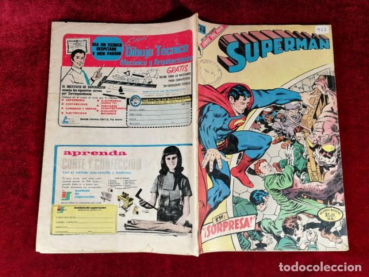 Tebeos: SUPERMAN NOVARO MEXICO 911 MUY DIFICIL 1973 - Foto 5 - 146347602