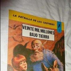 Tebeos: LA PATRULLA DE LOS CASTORES Nº 1 - EDITORIAL NOVARO 1979. Lote 134114958