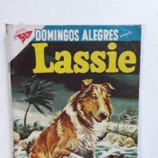Tebeos: DOMINGOS ALEGRES N° 201 - LASSIE - ORIGINAL EDITORIAL NOVARO. Lote 146713254