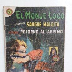 Tebeos: EL MONJE LOCO N° 107 - ORIGINAL EDITORIAL NOVARO. Lote 146722142
