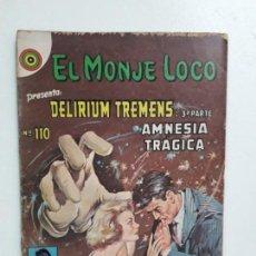 Tebeos: EL MONJE LOCO N° 110 - ORIGINAL EDITORIAL NOVARO. Lote 146722406