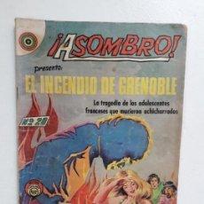 Tebeos: ASOMBRO N° 20 - ORIGINAL EDITORIAL NOVARO. Lote 146723866