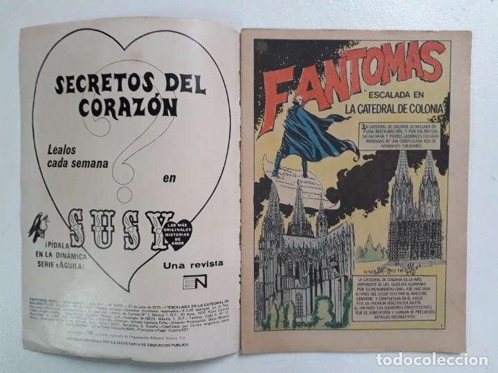 Tebeos: Fantomas n° 2-273 serie Águila - original editorial Novaro - Foto 2 - 146724718