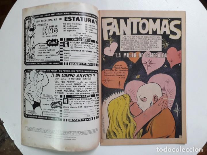 Tebeos: Fantomas n° 3-56 serie Avestruz - original editorial Novaro - Foto 2 - 146725146