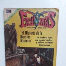 Tebeos: FANTOMAS N° 60 - ORIGINAL EDITORIAL NOVARO. Lote 146725482