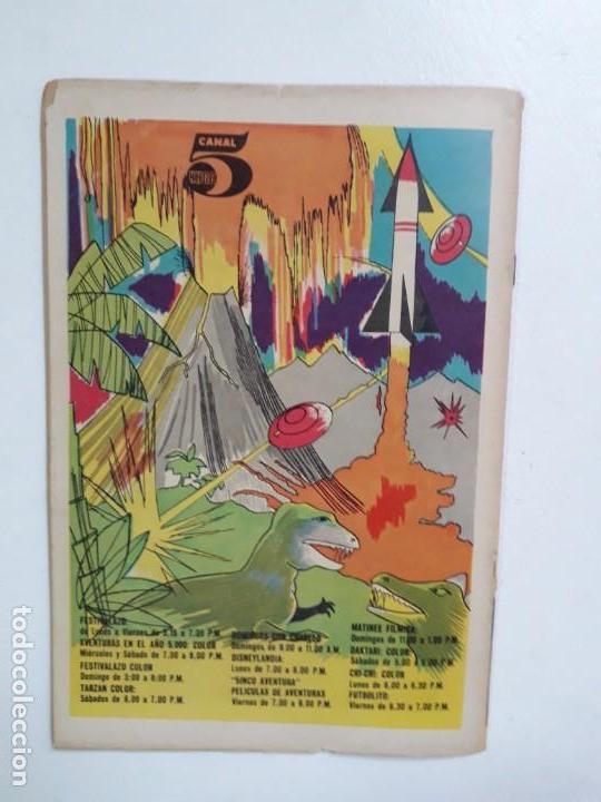 Tebeos: Fantomas n° 43 - original editorial Novaro - Foto 4 - 146726082