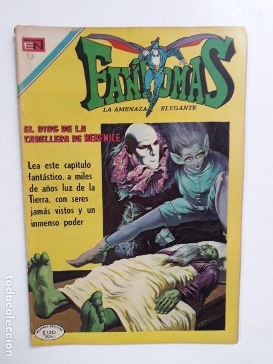 FANTOMAS N° 43 - ORIGINAL EDITORIAL NOVARO (Tebeos y Comics - Novaro - Otros)