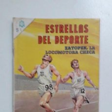 Tebeos: ESTRELLAS DEL DEPORTE N° 1 - ORIGINAL EDITORIAL NOVARO. Lote 146727050