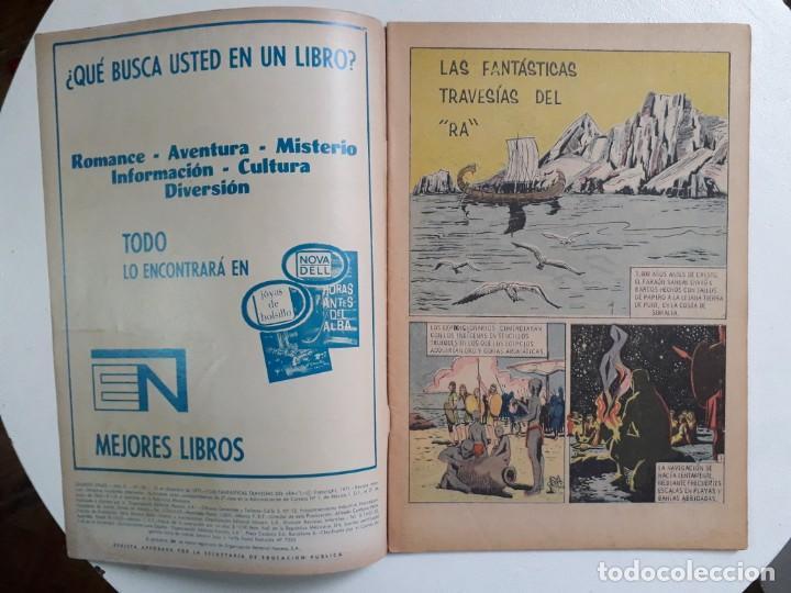 Tebeos: Grandes Viajes n°108 - original editorial Novaro - Foto 2 - 146736538