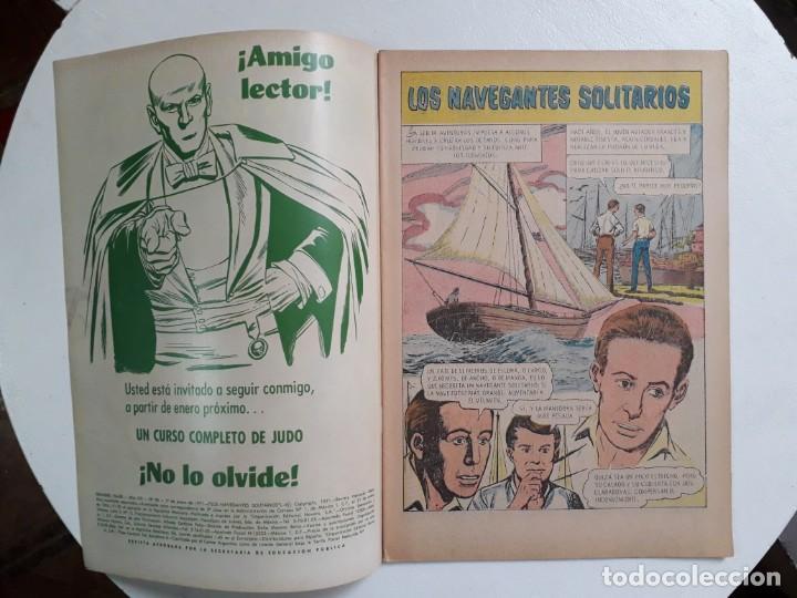 Tebeos: Grandes Viajes n° 96 - original editorial Novaro - Foto 2 - 146736894