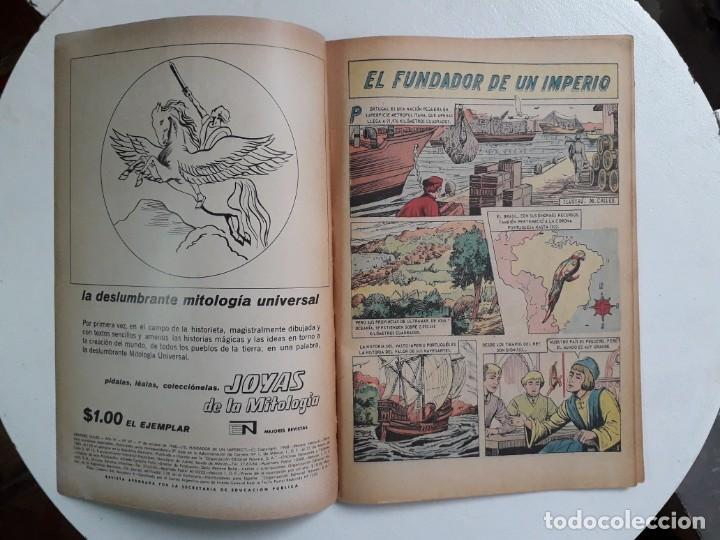 Tebeos: Grandes Viajes n° 69 - original editorial Novaro - Foto 2 - 146737202