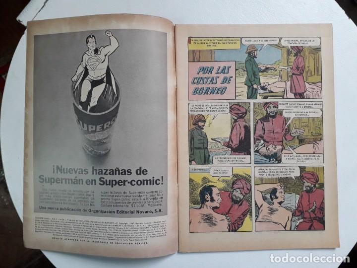 Tebeos: Grandes Viajes n° 54 - original editorial Novaro - Foto 2 - 146737826