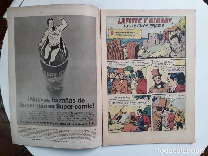 Tebeos: Grandes Viajes n° 53 (los últimos piratas) - original editorial Novaro - Foto 2 - 146737958
