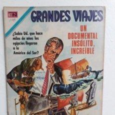 Tebeos: GRANDES VIAJES N°108 - ORIGINAL EDITORIAL NOVARO. Lote 146736538