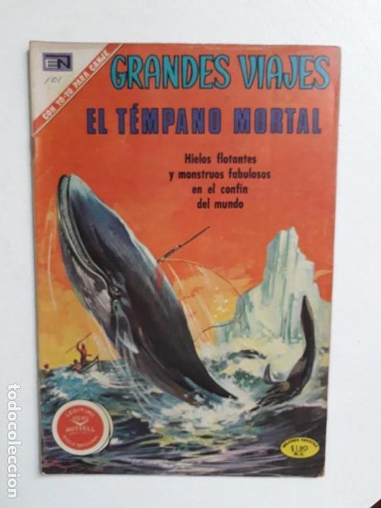GRANDES VIAJES N° 101 (ESPECIAL) - ORIGINAL EDITORIAL NOVARO (Tebeos y Comics - Novaro - Grandes Viajes)