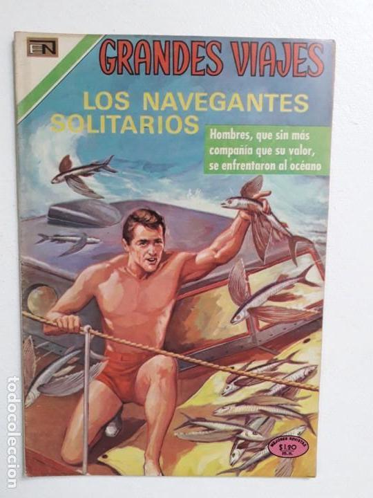 GRANDES VIAJES N° 96 - ORIGINAL EDITORIAL NOVARO (Tebeos y Comics - Novaro - Grandes Viajes)