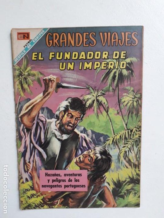 GRANDES VIAJES N° 69 - ORIGINAL EDITORIAL NOVARO (Tebeos y Comics - Novaro - Grandes Viajes)