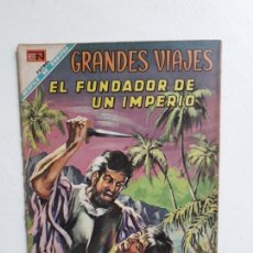 Tebeos: GRANDES VIAJES N° 69 - ORIGINAL EDITORIAL NOVARO. Lote 146737202