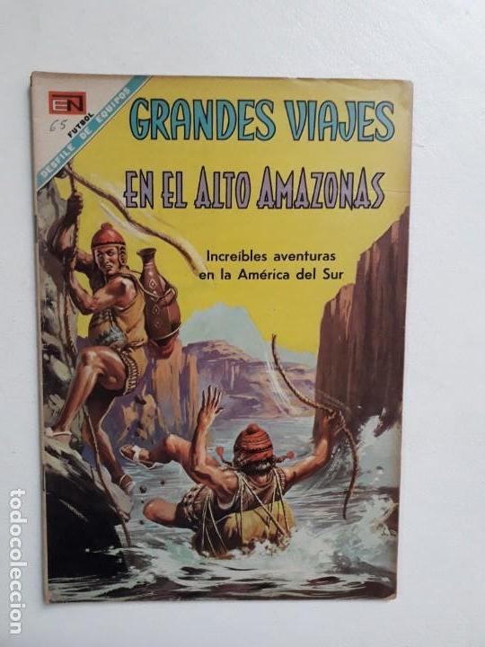GRANDES VIAJES N° 65 - ORIGINAL EDITORIAL NOVARO (Tebeos y Comics - Novaro - Grandes Viajes)