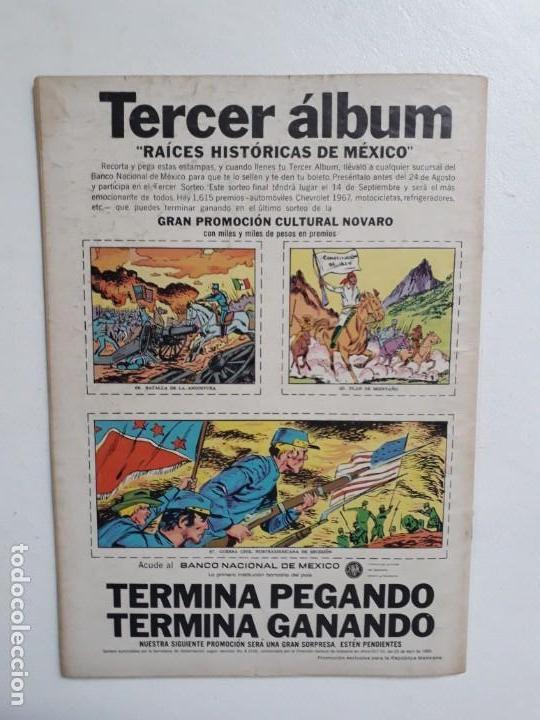 Tebeos: Grandes Viajes n° 54 - original editorial Novaro - Foto 3 - 146737826