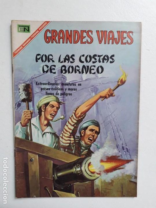 GRANDES VIAJES N° 54 - ORIGINAL EDITORIAL NOVARO (Tebeos y Comics - Novaro - Grandes Viajes)