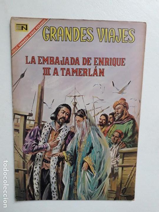 GRANDES VIAJES N° 51 - ORIGINAL EDITORIAL NOVARO (Tebeos y Comics - Novaro - Grandes Viajes)