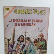 Tebeos: GRANDES VIAJES N° 51 - ORIGINAL EDITORIAL NOVARO. Lote 146738118