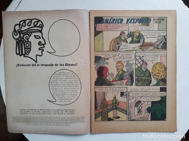 Tebeos: Grandes Viajes n° 47 - original editorial Novaro - Foto 2 - 146738266