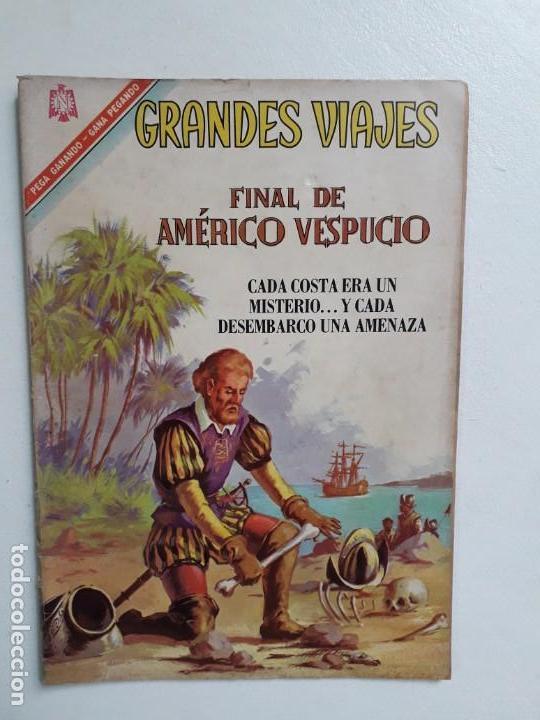 GRANDES VIAJES N° 47 - ORIGINAL EDITORIAL NOVARO (Tebeos y Comics - Novaro - Grandes Viajes)