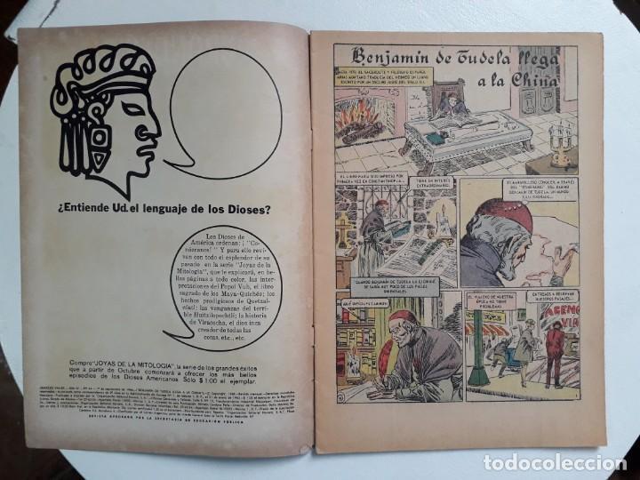 Tebeos: Grandes Viajes n° 44 - original editorial Novaro - Foto 2 - 146738438
