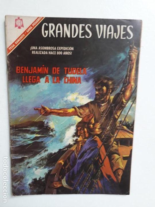 GRANDES VIAJES N° 44 - ORIGINAL EDITORIAL NOVARO (Tebeos y Comics - Novaro - Grandes Viajes)