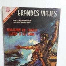 Tebeos: GRANDES VIAJES N° 44 - ORIGINAL EDITORIAL NOVARO. Lote 146738438