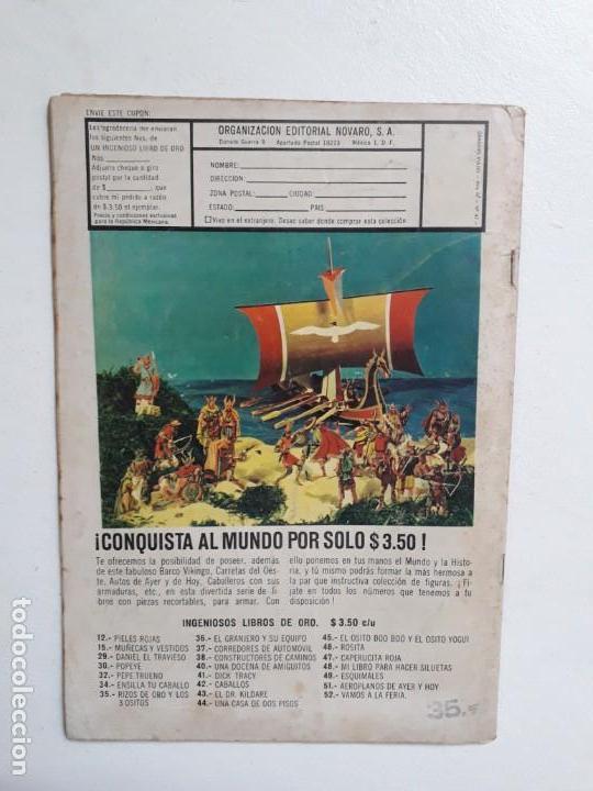Tebeos: Grandes Viajes n° 42 - original editorial Novaro - Foto 3 - 146738570