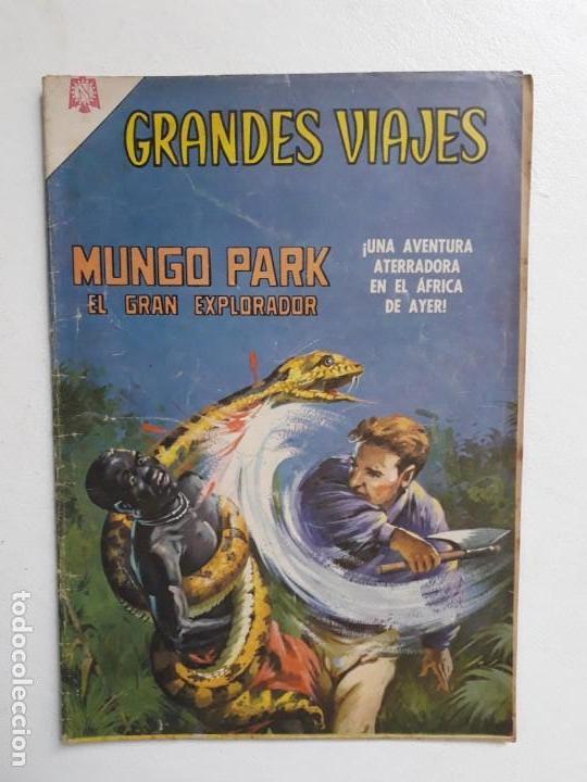 GRANDES VIAJES N° 42 - ORIGINAL EDITORIAL NOVARO (Tebeos y Comics - Novaro - Grandes Viajes)